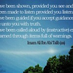 Hadith on guidance