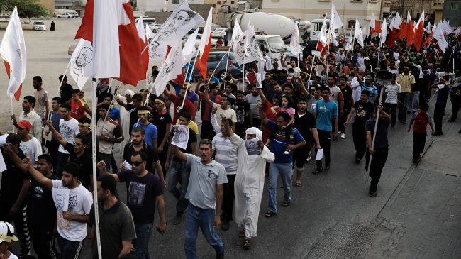 Bahrain opposition says regime is desecrating mosques