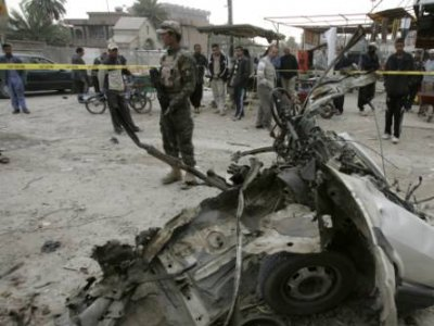 Bombing kills three northwest of Iraqi capital