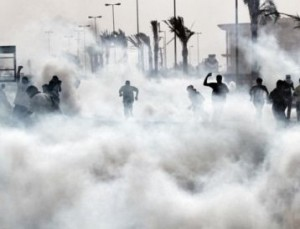 Bahraini regime forces attack peaceful protesters