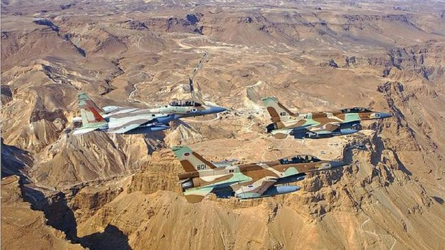 Three Israeli military aircraft violate Lebanese airspace
