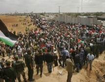 African immigrants in Israel hold protest near Egypt border