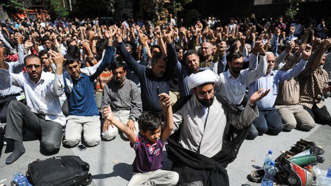 Hundreds of Iranian students