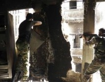 Syria army forces blow up militant headquarters