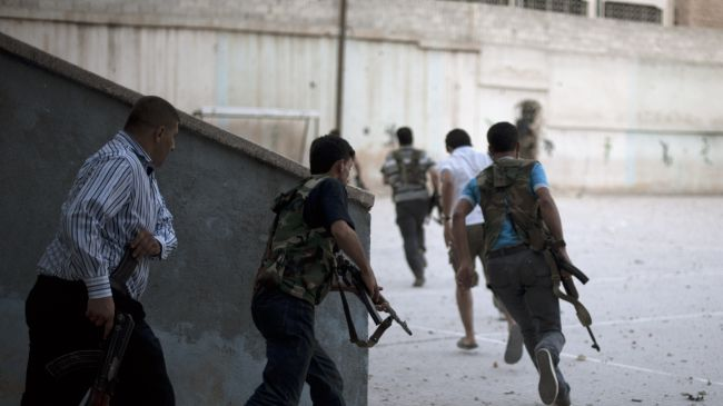 Syrian army keeps repelling militants near capital