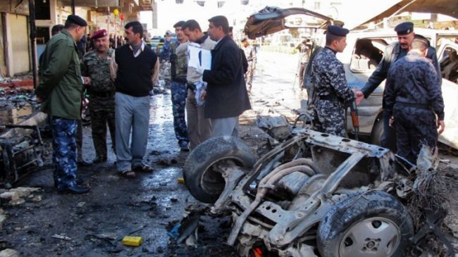 Car bombs kill 12, injure 30 in Baghdad
