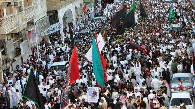 Bahrainis protest Saudi crackdown on Shias