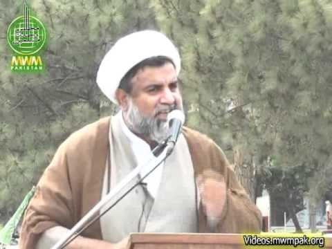 Allama Nasir Abbas Jafri urges supporters to turn out on May 11