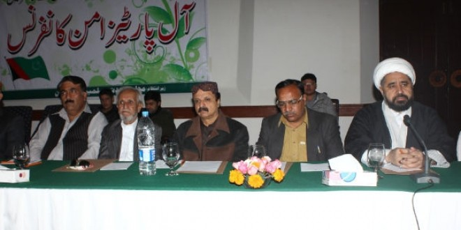 MWM-Lead APC Show Full Support To Governor Rule In Balochistan