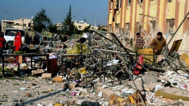 Car bombs kill people 6 near Syrian capital
