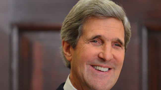 ایرانی صدر کا ایٹمی پروگرام پر بیان مثبت ہے، شام کے پُرامن حل کی طرف بڑھ رہے ہیں، جان کیری