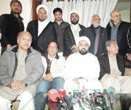 تحریک انصاف کے رہنماوں کی مجلس وحدت مسلمین کی مرکزی آفس آمد پر انتخابی اتحاد کے پیشکش