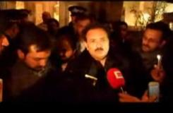 Shiites' Vigil Protest Outside Interior Minister of Pakistan's Residence in London
