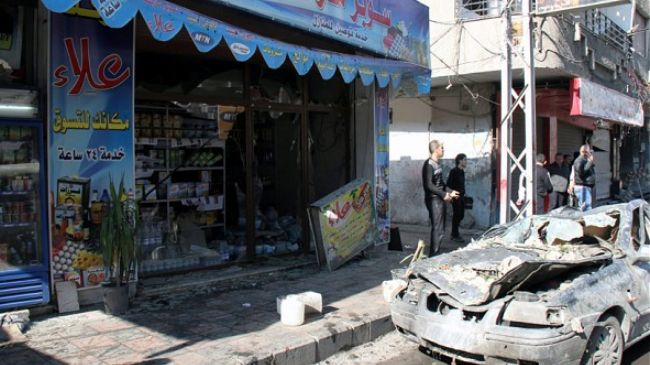 'Blast in Damascus causes casualties'
