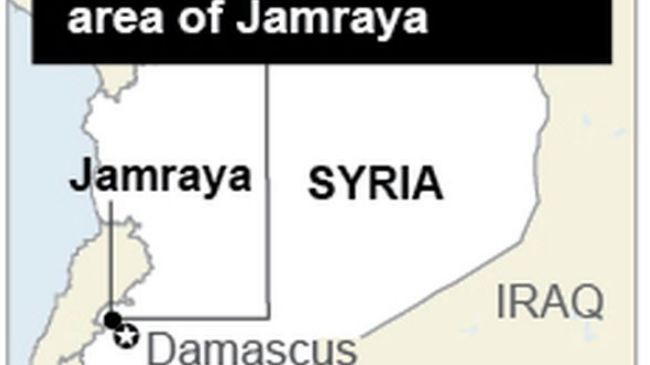 Chemical weapons sent from Turkey to Syria