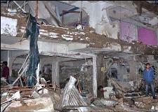 سانحہ عباس ٹاؤن، بم دھماکہ آر ڈی ایکس اور ٹی این ٹی کا ملاپ تھا