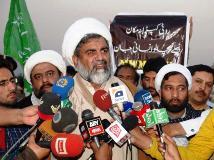 نواز شریف کا خطاب ایک خوفزدہ اور ڈرے ہو ئے لیڈر کا عکاس تھا، علامہ ناصر عباس جعفری