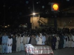 ذاکر اہلبیت(ع) عمران علی کی نماز جنازہ ادا ہو گئی