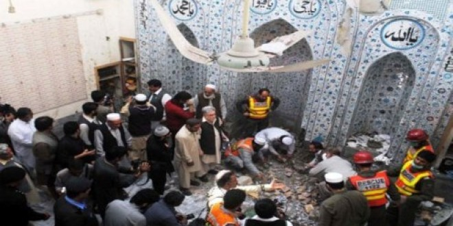 Peshawar Mosque Attack Kills Four