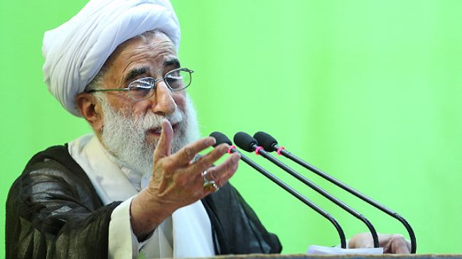 Cleric criticizes presidential hopefuls for pledging to open US talks