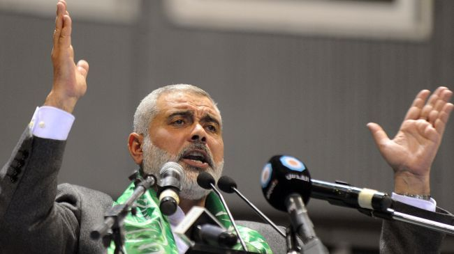 US has nothing to offer to Palestinians: Haniyeh