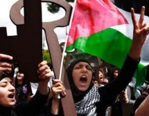 Palestinians protest in West Bank against Israel