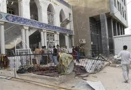Bomb in Iraq mosque kills 20: police
