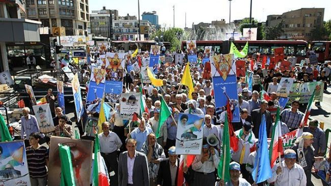 Quds Day to be observed in 80 countries, over 770 Iranian cities: Iran official