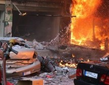 Two car bombs rock Haret Hreik district of Beirut