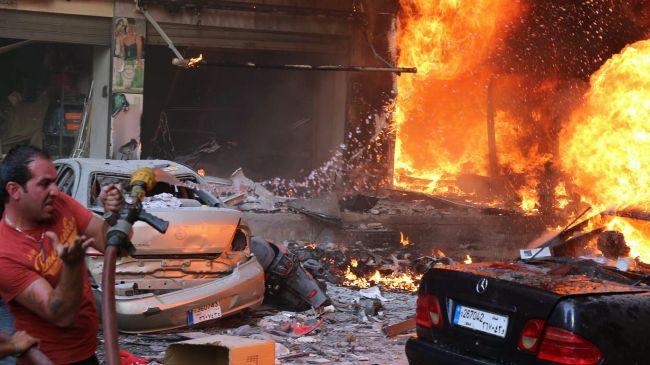بیروت میں کار بم دھماکہ 40 افراد شہید اور زخمی