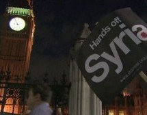 British anti-war campaigners to protest against Syria attack