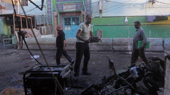 Bomb explosions kill 4, injure dozens in Iraq
