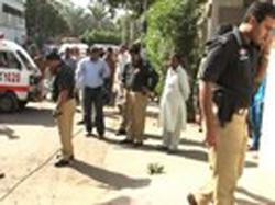 کراچی: خالد بن ولید روڈ پر 2 خود کش بمبار خواتین کا امام بارگاہ میں داخل ہونے کی ناکام کوشش
