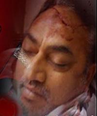 کراچی:سعودی ایجنٹوں کی فائرنگ سے پروفیسر اظہر حسین زیدی شہید