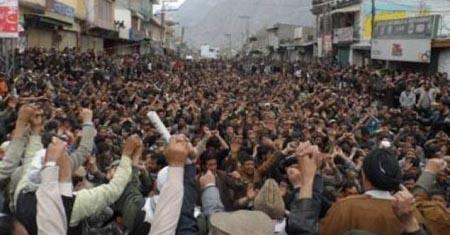 گندم سبسڈی کا خاتمہ کے خلاف، گلگت بلتستا ن میں 10 ویں روز بھی احتجاجی دھرنے جاری