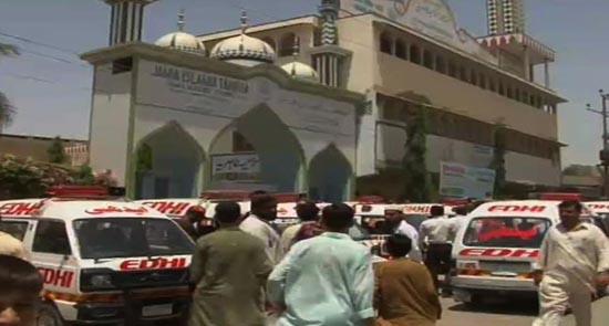 کراچی:سمیع الحق کےمدرسے میں دوران ٹرینگ بم پھٹنے سے تین بچے واصل جہنم درجن سے زائد زخمی