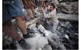 غزہ میں صہیونی حملے جاری، دو فلسطینی شہید اور ۲۰ زخمی۔