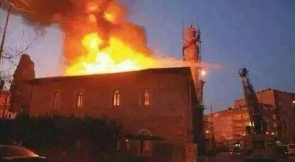 Shia Mosque Set On Fire In Istanbul's Esenyurt