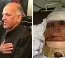 معروف بزرگ سلام خواں جناب اشرف عباس صاحب کا  خطرناک ایکسیڈنٹ