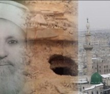 Takfir terrorists exhume and destroy a Sufi tomb in Old Aleppo