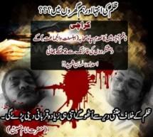 سگے بھائی اسد اور سلمان شہید