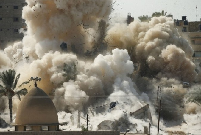 Egypt starts work on expanding Gaza buffer zone